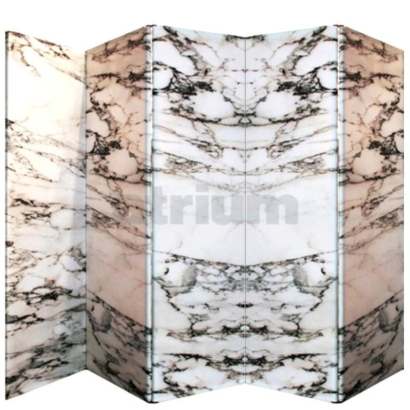 cerruti baleri wow paravent 5 teilig carrara marmor. Black Bedroom Furniture Sets. Home Design Ideas