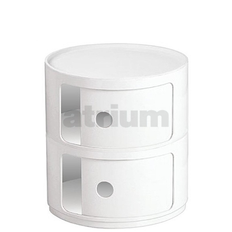 kartell container awesome kartell container rund cm weiss with kartell container interesting. Black Bedroom Furniture Sets. Home Design Ideas