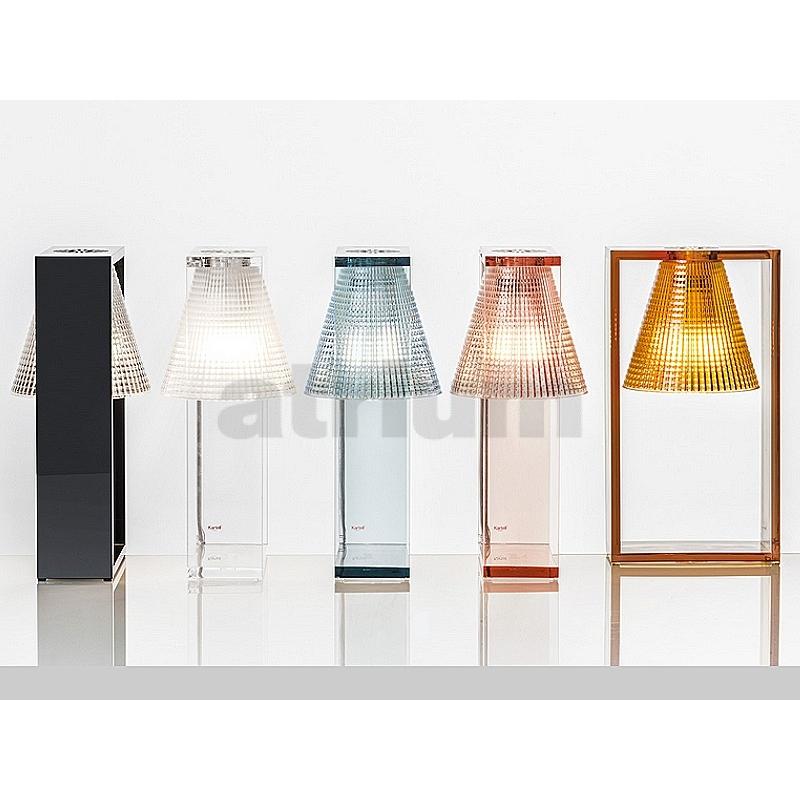 Kartell light air tischleuchte rosa 144 00 for Design produkte shop