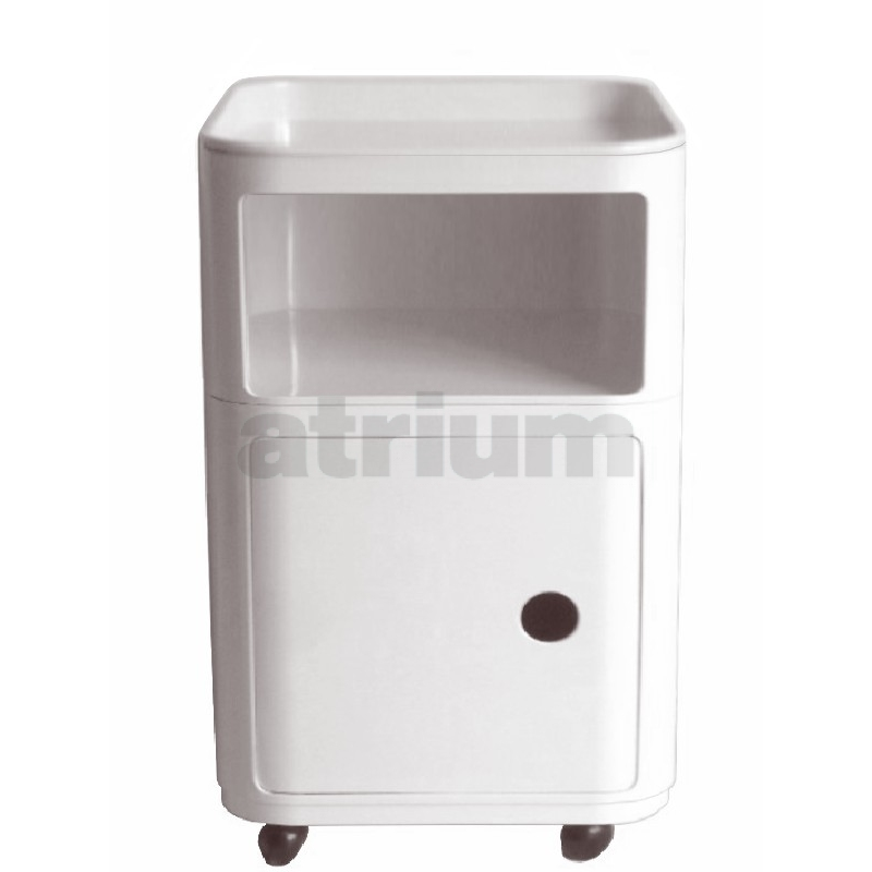 kartell rollcontainer 5 180 00. Black Bedroom Furniture Sets. Home Design Ideas