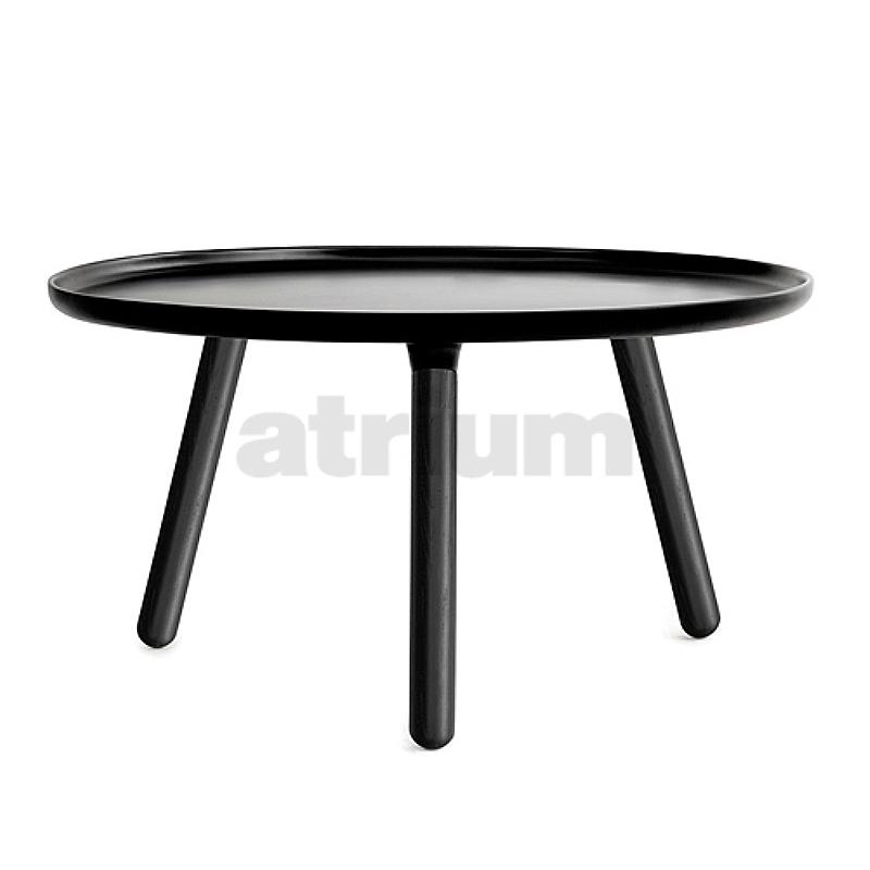 Nc tablo tisch rund 78 cm schwarz schwarz 390 00 for Design tisch schwarz