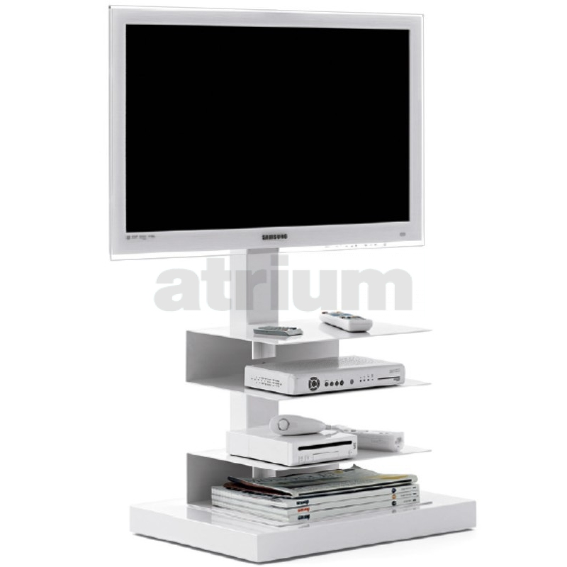 oc ptolomeo tv light rack weiss 595 00. Black Bedroom Furniture Sets. Home Design Ideas