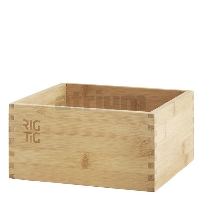 rig tig woodstock aufbewahrungsbox bambus gross 19 99. Black Bedroom Furniture Sets. Home Design Ideas