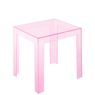 Kartell Jolly Tisch, transparent rosa