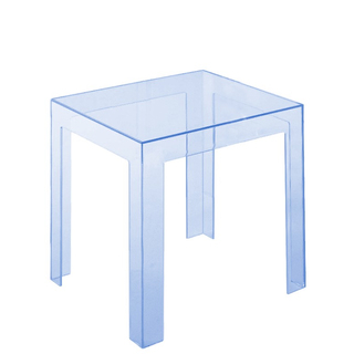 Kartell Jolly Tisch, transparent eisblau